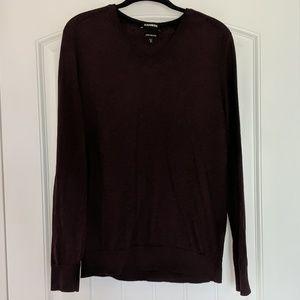 Express Maroon Sweater